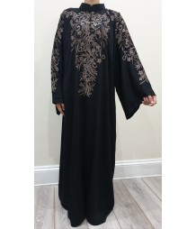 aswad Embroidery abaya style uk