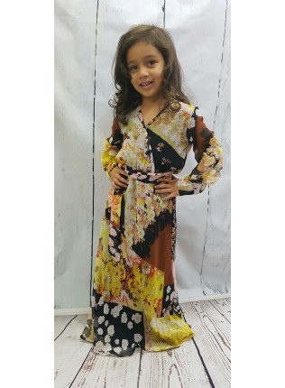 Mia's Chiffon Maxi Dress AME014