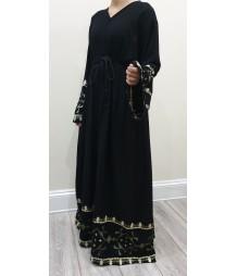 Esmi Border abaya style uk