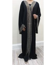 Hayyat star light open abaya style uk