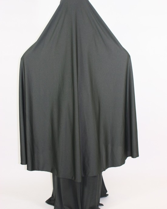 Amani's 2 Piece Army Jersey Stretch Green Overhead Jilbab – Burka – Burqa Style UK - Burqa - Jilbabs - Burka - Jilbab003