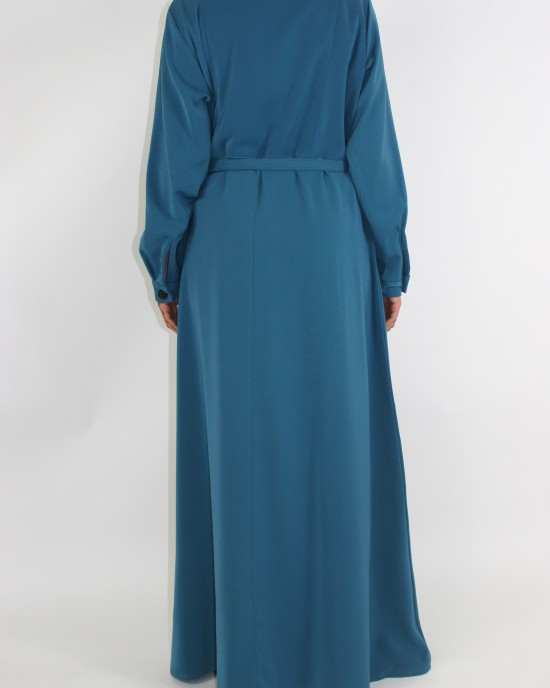 Amani's Til Long Sleeve Maxi Jacket Style UK - Jackets - Jacket016