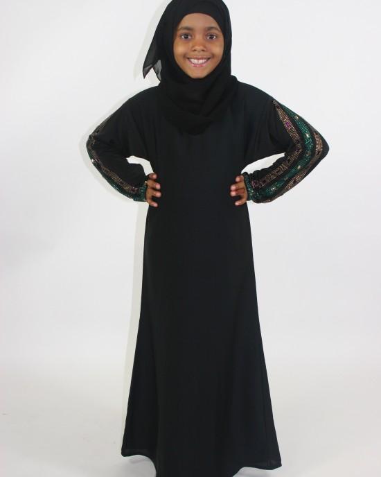 Kids Abaya A013