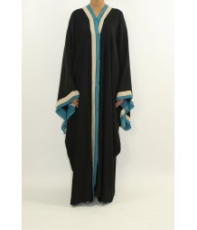 Aairah Front Open Abaya Style AST12 UK