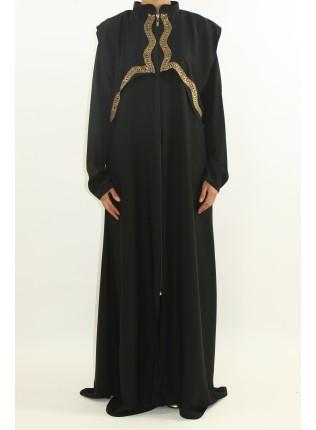 Aamanee Open Abaya Style AST18 UK