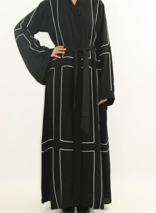 Aanisah Open Abaya Style ASTT1 UK