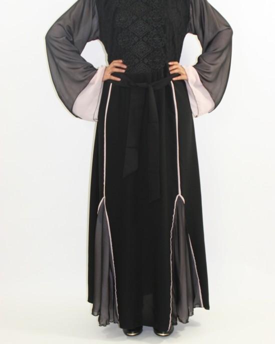 Amani's Designer Abaya Style UK - Abayas - Abaya070